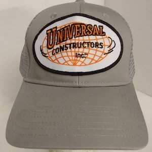 NWOT* Universal Constructors Inc Trucker Hat Cap